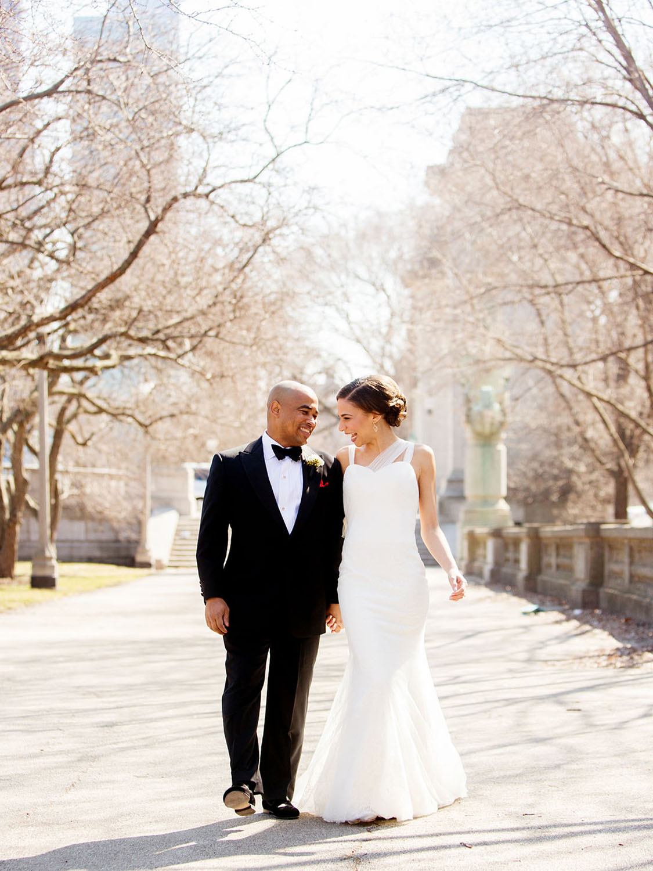 Blackstone hotel winter wedding